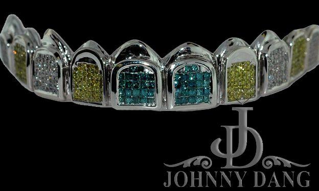 Custom Grillz from Johny Dang - Certified Customs - Denver, CO - https://certifiedcustoms.net/grillz/