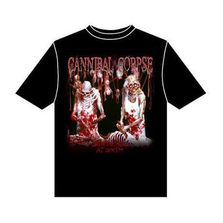 Tricou Cannibal Corpse: Butchered at Birth