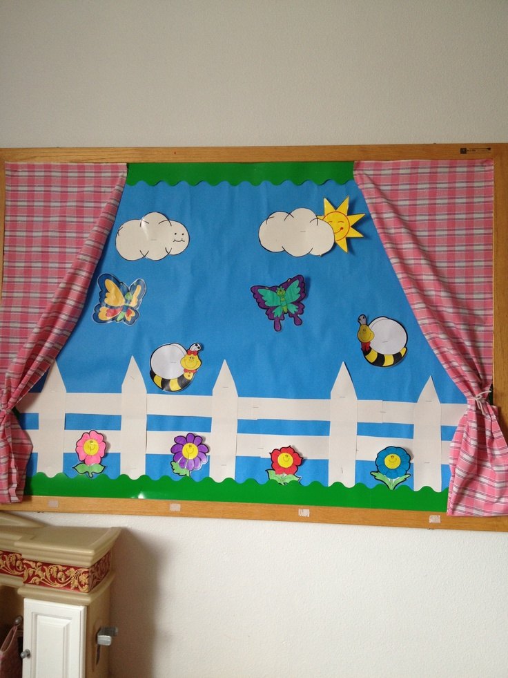 204 best images about bulletin board inspiration on pinterest for Curtain display ideas
