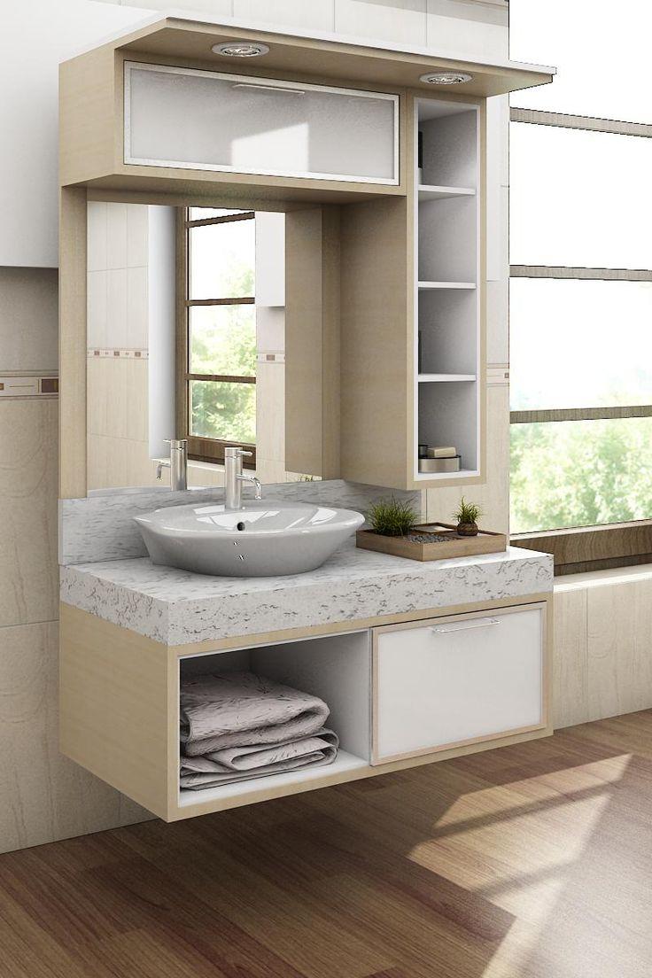 25 melhores ideias de banheiros planejados no pinterest for Aplicacion para disenar armarios
