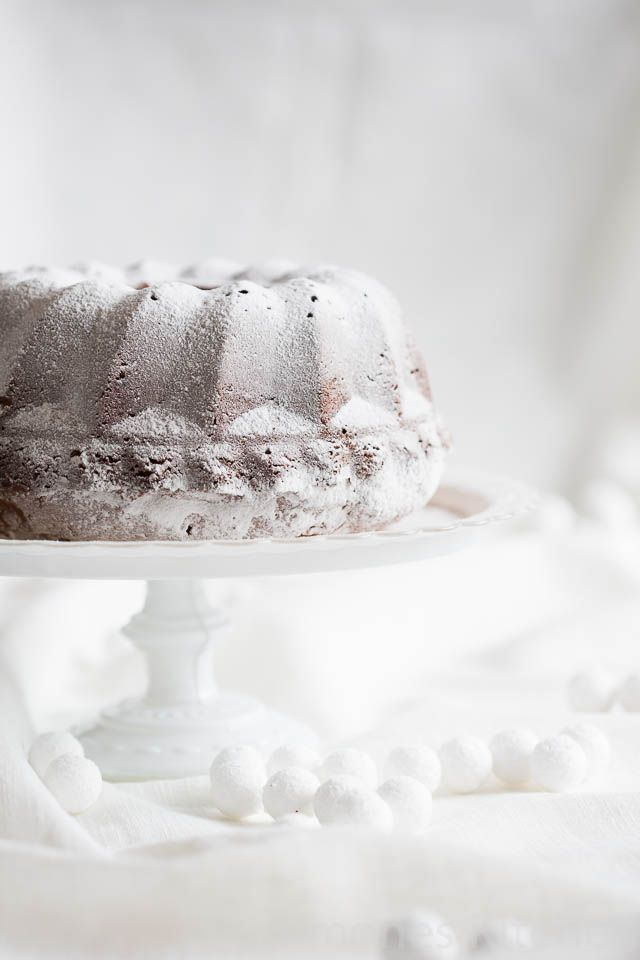 Christmas Dessert: Bundt Cake with Roasted Marzipan. Seriously if you think you have eaten the best Christmas bundt cake out there... think again and try this one first!