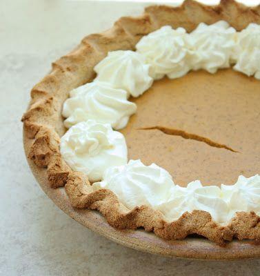 Low Carb & Gluten Free Pumpkin Cheesecake Pie | Recipe | Gluten Free ...