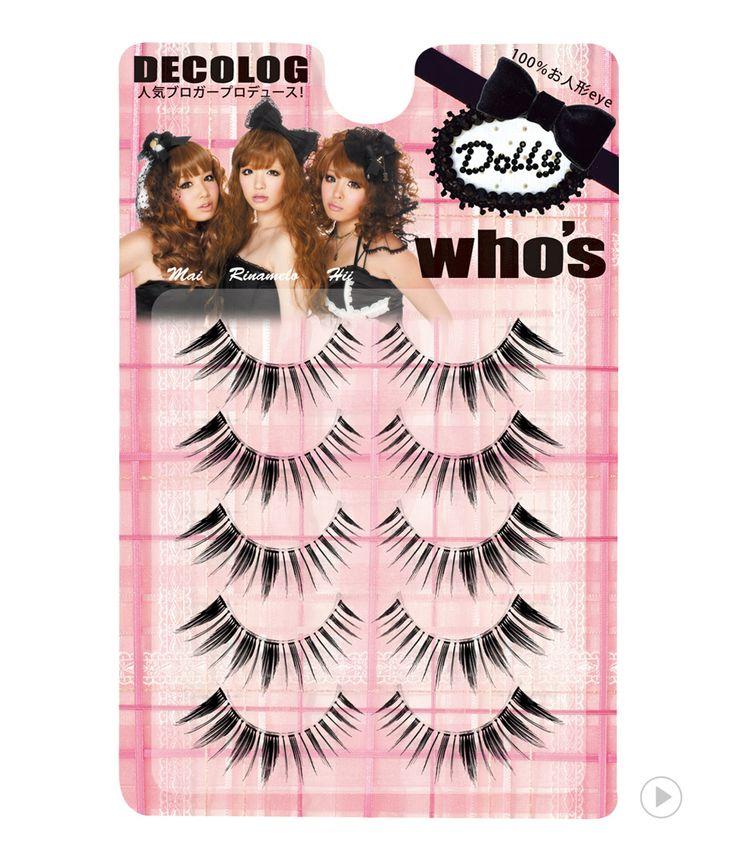 Decolog who's eyelash dolly