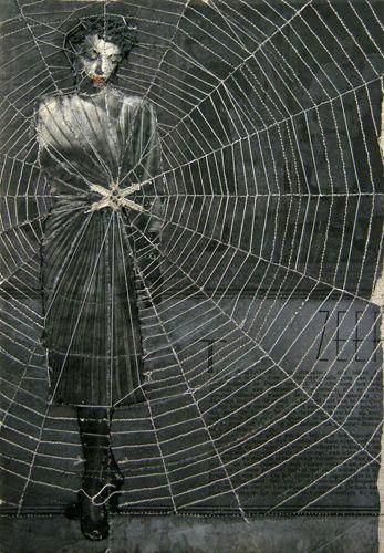by Hinke Schreuders, 2011 <3 Spider Web <3 Art