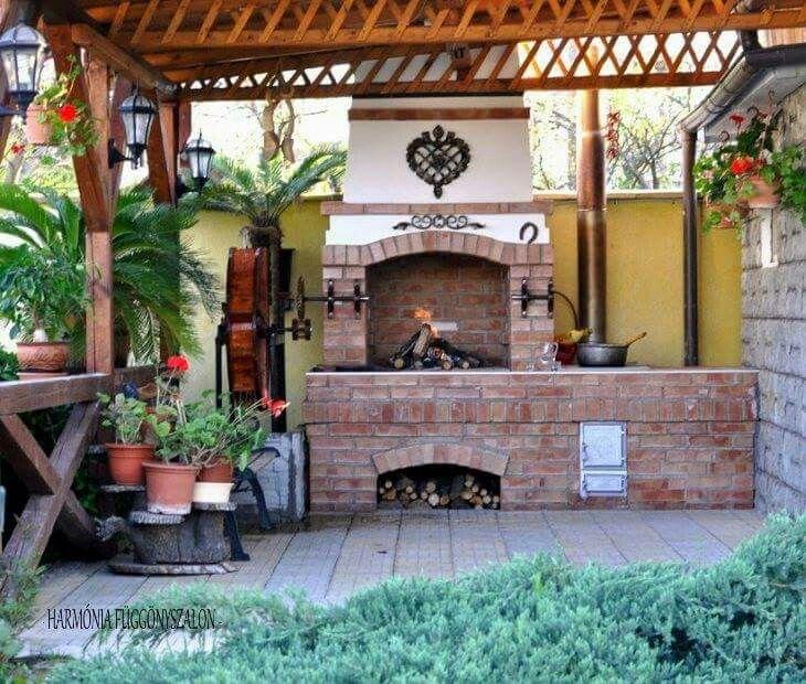 Barbeque Outdoor Ovenoutdoor Cookingfireplace