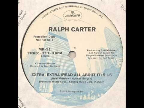 Extra , Extra - Ralph Carter (Promotional 12'inch Mix - 1975).