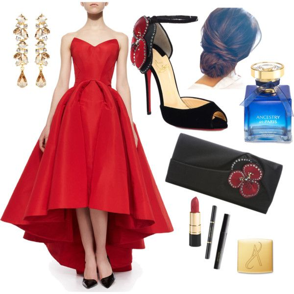 Recognition Outfit by veradediamant on Polyvore featuring polyvore, moda, style, Zac Posen, Christian Louboutin and Ben-Amun