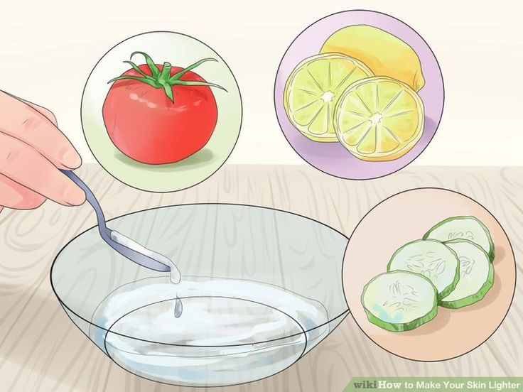 how to get lighter skin with lemon