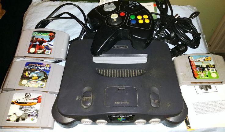 Nintendo 64 Grey Console (PAL) 6 Games Plus Extras