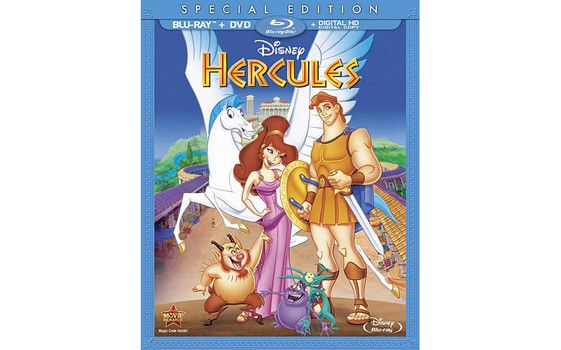 Disney's colossal fantasy adventure film 'Hercules' Special Edition arrives on DVD and Blu-ray on Tuesday, August 12, 2014. Cast: Barbara Barrie, Danny DeVito, Tate Donovan, James Woods, Susan Egan, Rip Torn, Bobcat Goldthwait .