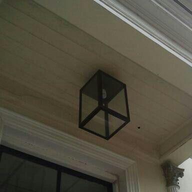 square buitenlamp