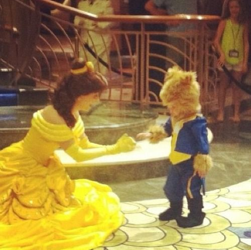This is the cutest thing ever, you always see little girls dressed up as princesses so it's nice to see a little boy as a prince! love it!: