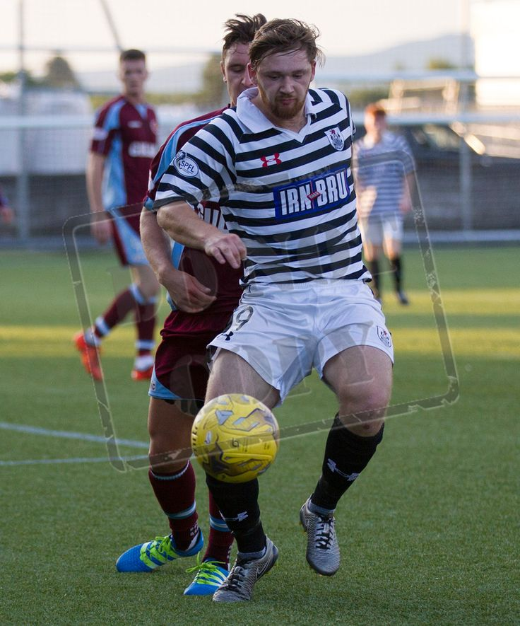 Queen's Park's Aiden Malone in action during the Betfred Cup game between Stenhousemuir and Queen's Park