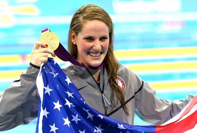 Missy Franklin wins gold at 17! YOU GO GIRL