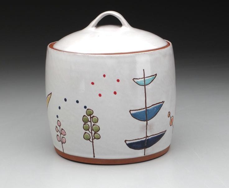 white jar by Courtney MurphyTarts, Ceramics Jars, Shape, Courtney Murphy, White Jars