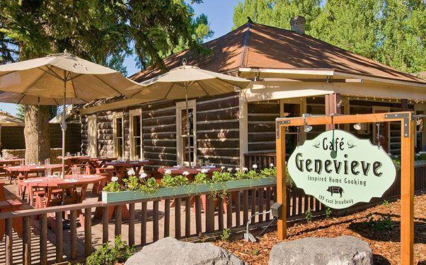 Cafe Genevieve Restaurant in Jackson Hole, Wyoming