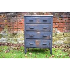 1930's Industrial Typewriter Chest of Drawers