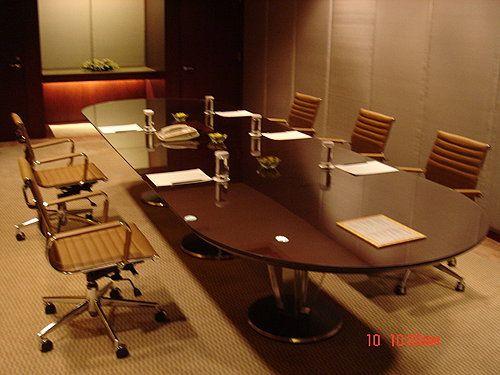 Shangri-La's Far Eastern Plaza Hotel, meeting room by Favrile #meetingroom #officechair