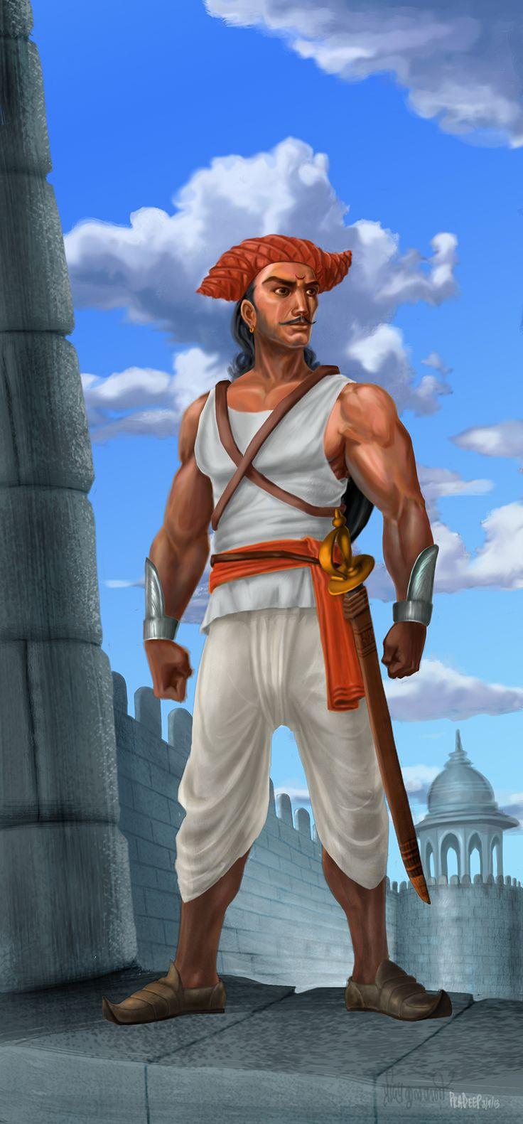 Maratha Warrior