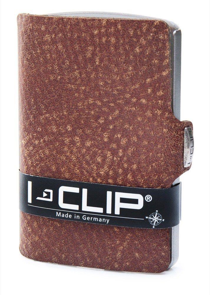 Questo porta carte di credito I-Clip Vintage è leggero, comodo e unisex. Scopri i fantastici colori di questo porta carte di credito su www.calzaveste.it