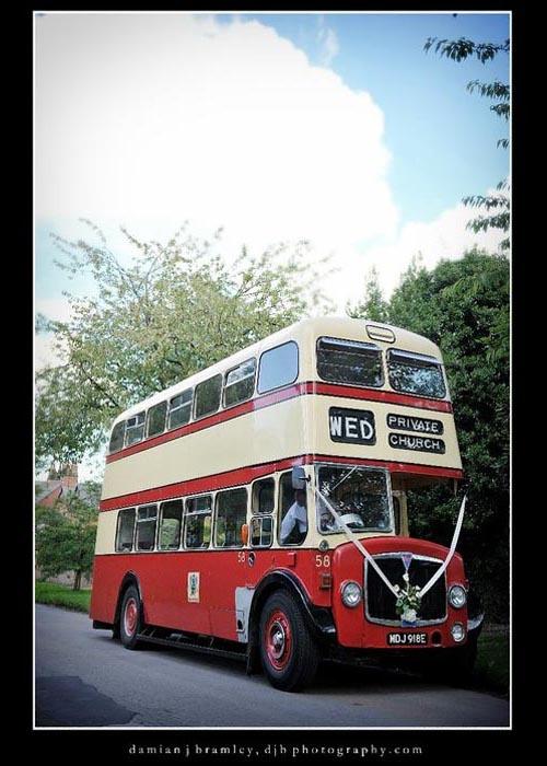 Red bus hire; Double decker bus hire; A Vintage Coach hire