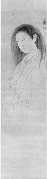 """Yūrei (幽霊?) are figures in Japanese folklore, analogous to Western legends of ghosts. The name consists of two kanji, 幽 (yū), meaning """"faint"""" or """"dim"""" and 霊 (rei), meaning """"soul"""" or """"spirit."""""""