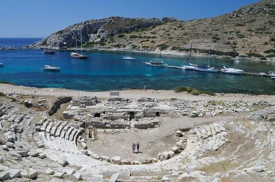 Ancient city of Knidos - Datca Peninsula Turkey