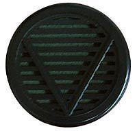 "Black Round Cigar Humidor Humidifier 2 1/4"""" X 1/2"""""