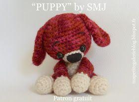 """Voici, Puppy, ma toute dernière création """"made by SMJ"""", entièrement conçue et réalisée par ELLE-même ! Je le trouve assez craquant ! Et ..."""
