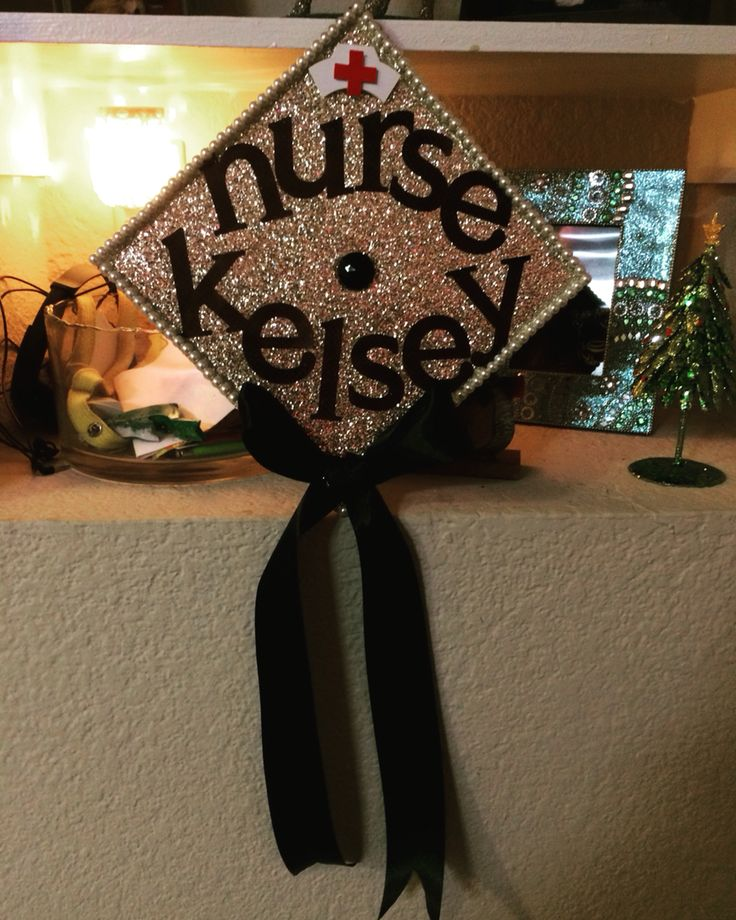 Nurse graduation cap!