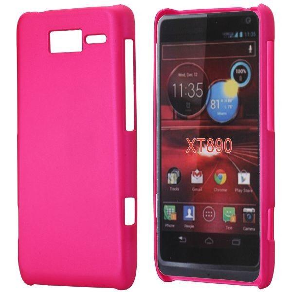 Hard Shell (Hot Rosa) Motorola RAZR i Deksel