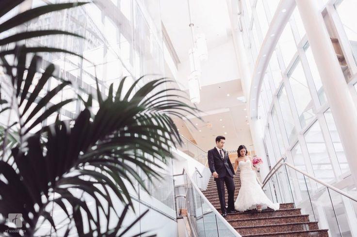 Vancouver Marriott Pinnacle Downtown Hotel Wedding