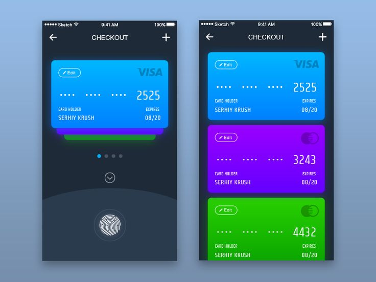 Daily UI #002 - Credit Card Checkout