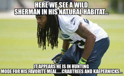 Meme This Pic Winners | Richard Sherman Official Website