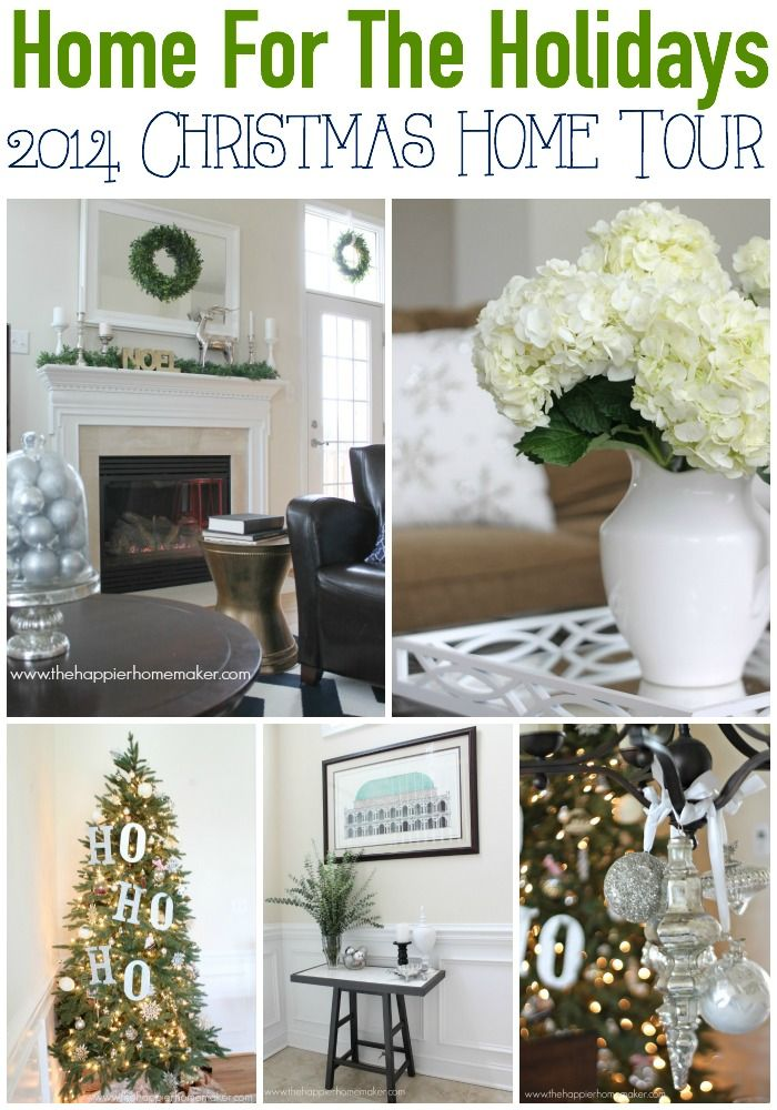 209 best christmas home tours images on pinterest | christmas