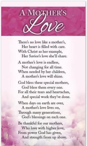 Happy Mothers Day Poems From Daughter Son To Mom 2017 Poetry Grandson Grandchildren In Law