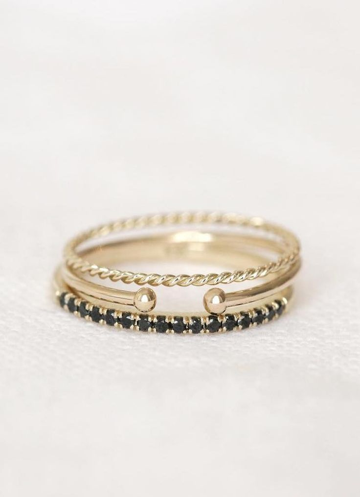 Rings to take you from day to night.