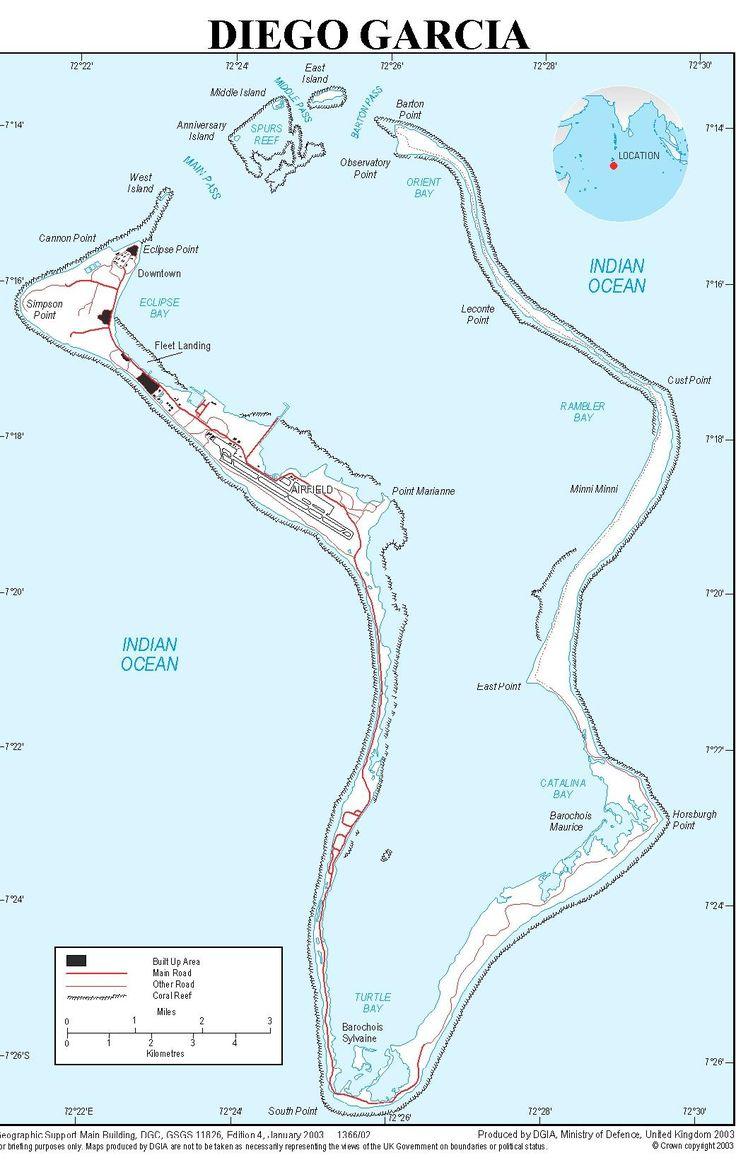 """Das Inselatoll """"Diego Garcia"""""""