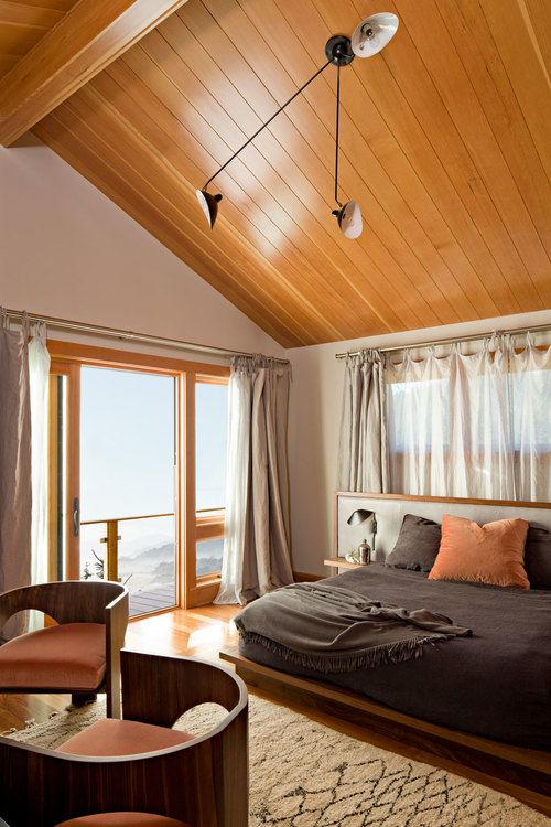 Master Bedroom, Bed And Chairs Of JHID Design