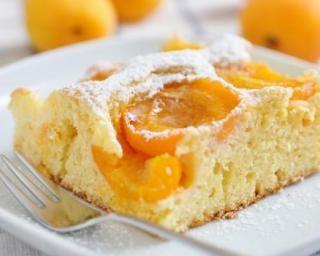 Gâteau au yaourt 0% et abricots