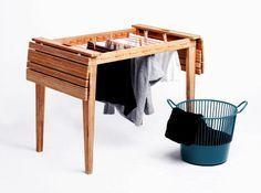 Móvel de quinta: Uma mesa varal