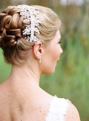 Rhinestone Headband Bridal Hair Ideas | photography by http://www.charlottejenkslewis.com