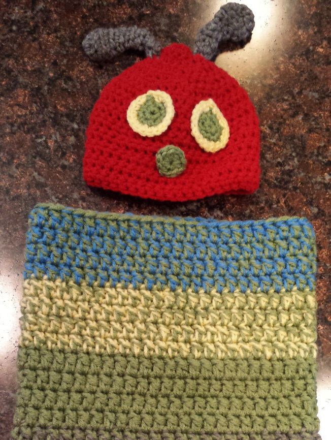 Caterpillar Baby Cocoon by FabNGrab on Etsy