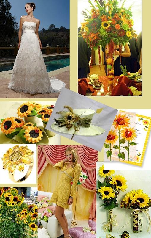 Sunflower Wedding Theme Sunflower Wedding Ideaskaila Evan 61