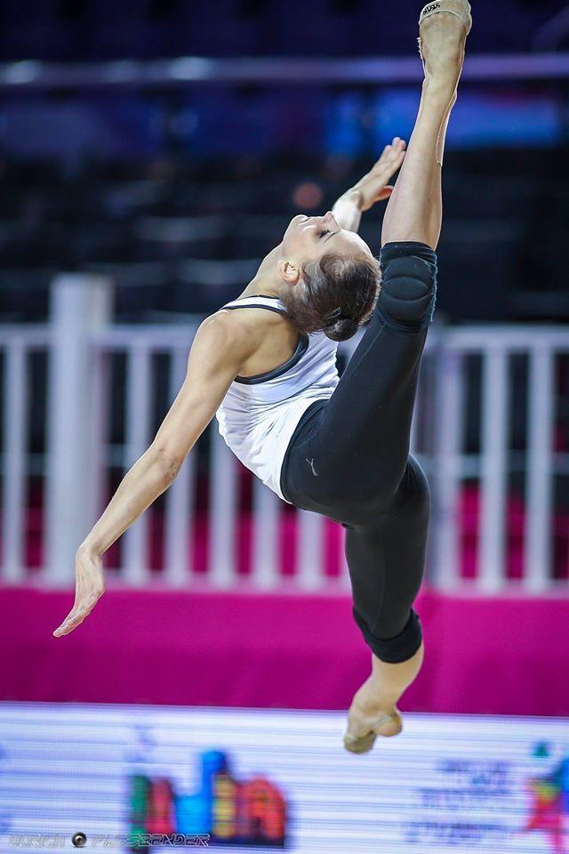 Veronica Bertolini Italy Backstage European Championships Holon 2016