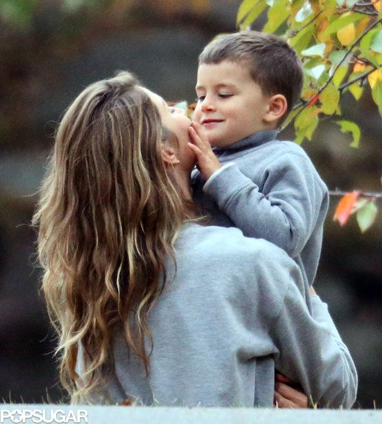 : Gisele Bündchen shared a cute moment with Ben.