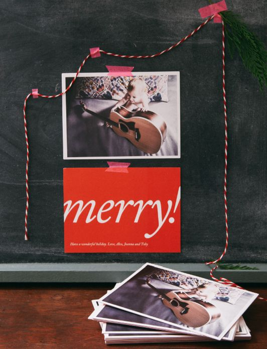 A CUP OF JO: Our holiday cards