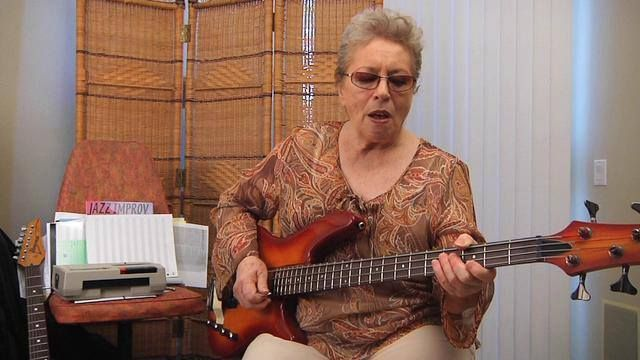 Bassist Carol Kaye - session musician and member of The Wrecking Crew
