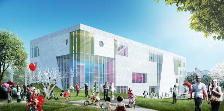 KU.BE er navnet på et kommende kultur- og bevægelseshus i området ved Flintholm…