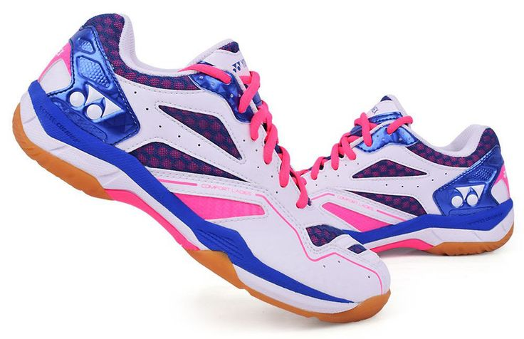 Yonex Women's Badminton Shoes Power Cushion COMFORT LADIES Pink Blue SHB-CFLEX #YONEX